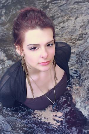 Laura in Water