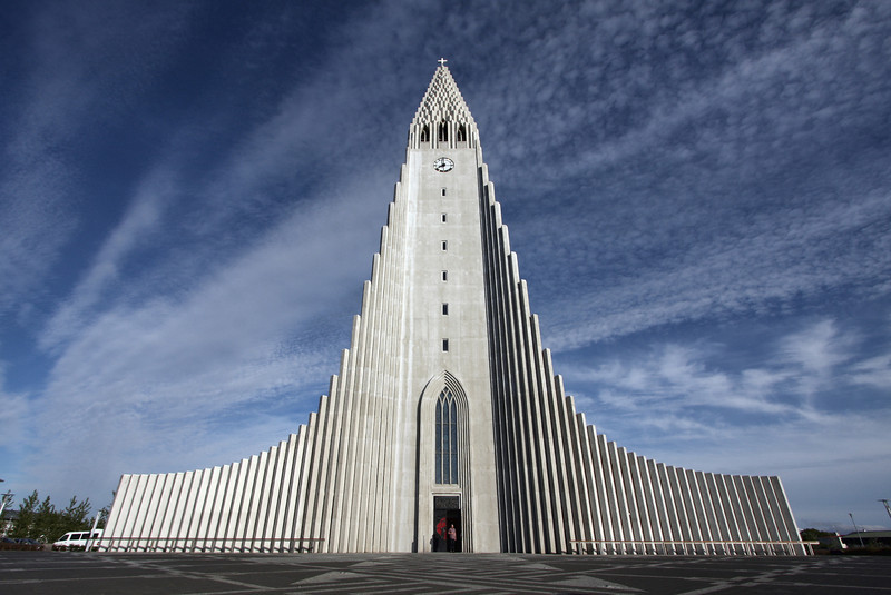 Hallgrimskirkja. Reykjavik, Iceland