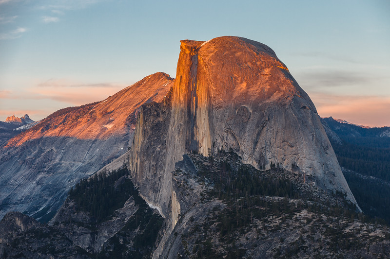 Half Dome, Yosemite National Park. California, USA.