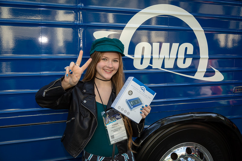 2019_01_24, Anaheim, Bus, CA, Exterior, Giveaway, Giveaways, NAMM, OWC
