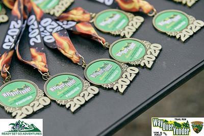 Part 1A-Way Over Yonder 10K & Half Marathon Trail Run 10/11/20