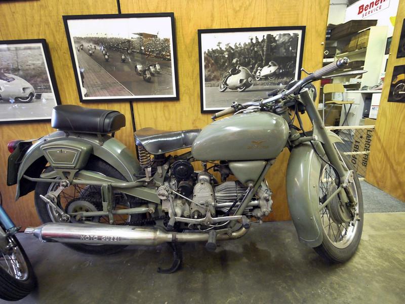 Guzzi Forestry Service bike