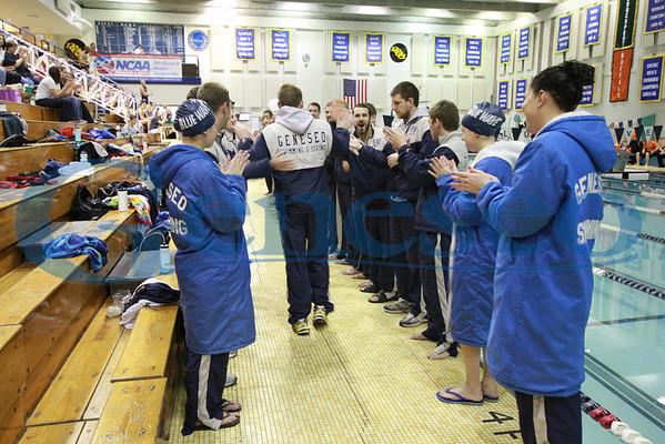 Blue Wave Swim Meet Men's 400th Win