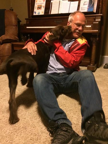 Zephyr welcomes Sheldon home