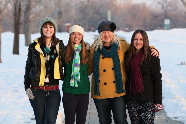 Nachelle, Joscelyn, Erin, Tayler