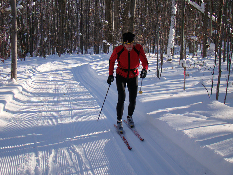 Trails groomed minutes ago.