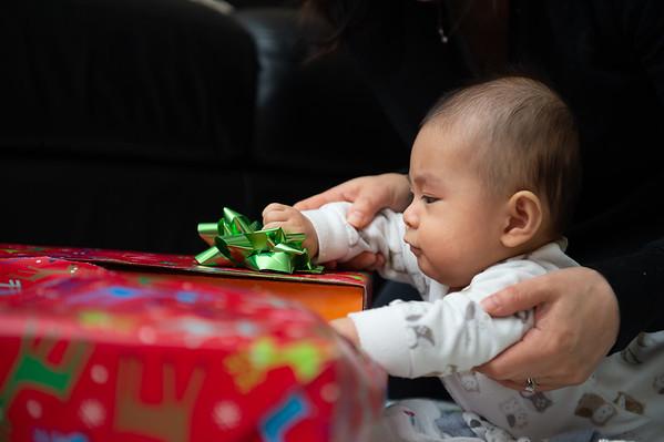 Joshua First Christmas Presents