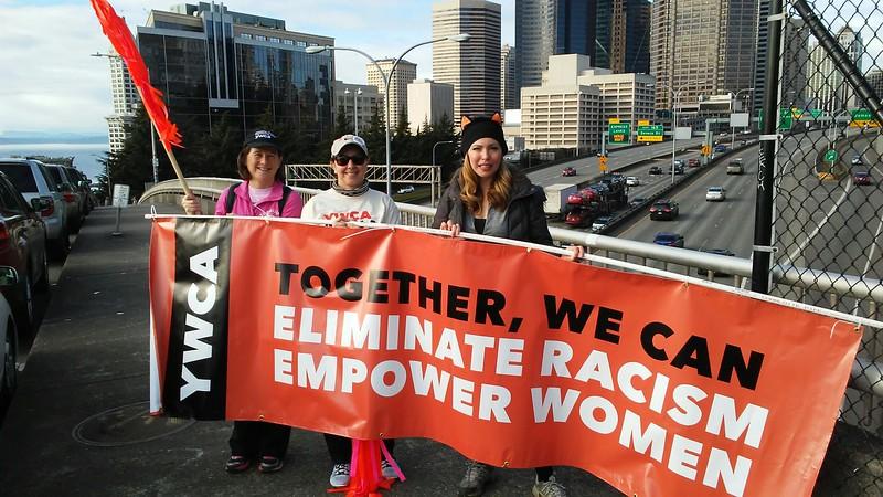 Womxn's March on Seattle, Jan 21, 2017