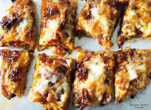 """I Taste Bacon ... """"With A Kick"""" Pizza - Catalog #4024"""