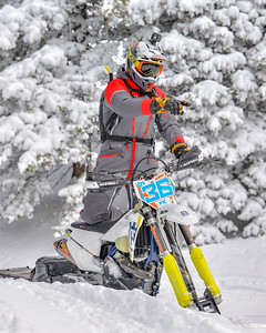 Brock Buttars Snowbike stuff