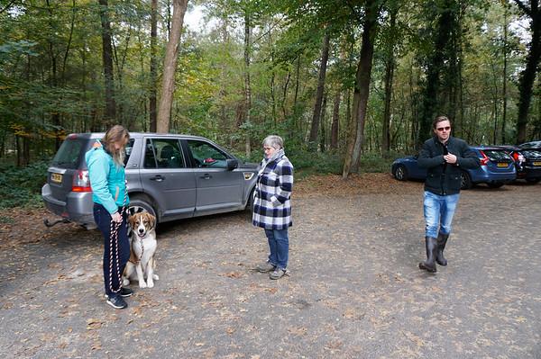 Walking Bokke at Soester Duinen
