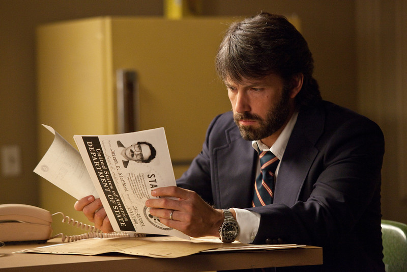 ". Actor-director Ben Affleck is CIA operative Tony Mendez in the political thriller ""Argo.\"" Photo Claire Folger, Courtesy Warner Bros. Pictures."