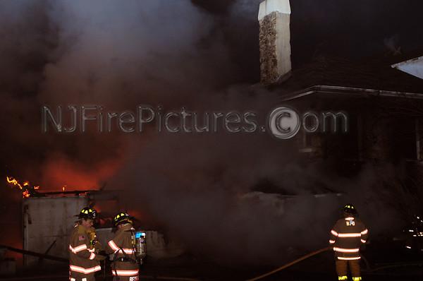 HOPATCONG, NJ DWELLING FIRE 10 PICKEREL POINT RD. 1/6/12