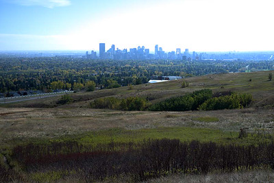 29 September : Calgary from Nose Hill Park