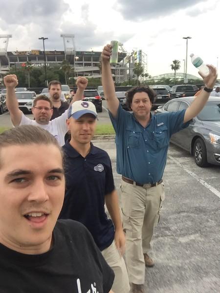 Beaches Vineyard Men's group outing to a Jax Sun's baseball game (thanks James) :)