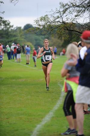 Women's College Mid Race - 2015 MSU Spartan XC Invite