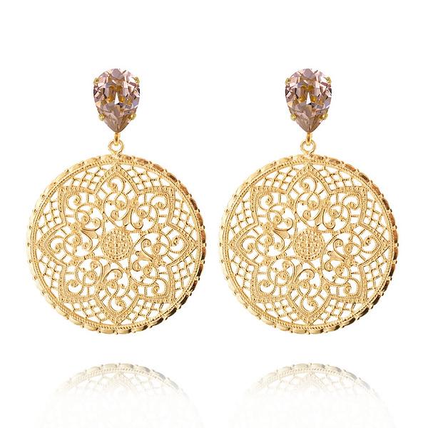 Alexandra Earrings / Vintage Rose Gold