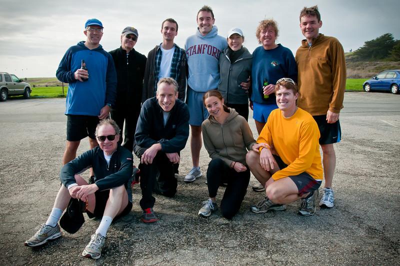 The running crew