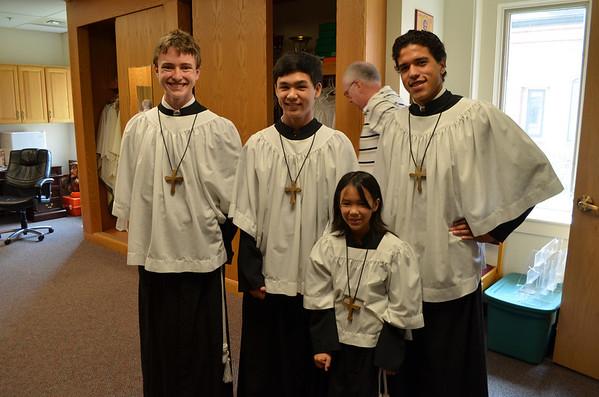 Bishop Michael Bransfield visit