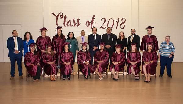 GED Graduation May 31, 2018
