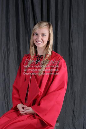 Senior Cap and Gown Photos
