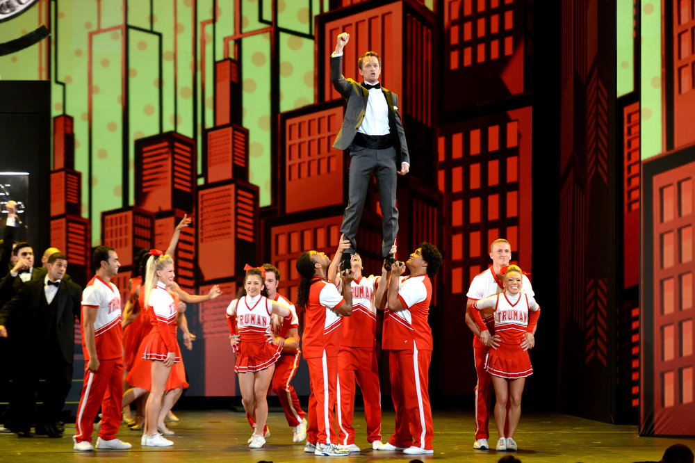 . Host Neil Patrick Harris performs onstage at The 67th Annual Tony Awards at Radio City Music Hall on June 9, 2013 in New York City.  (Photo by Andrew H. Walker/Getty Images for Tony Awards Productions)