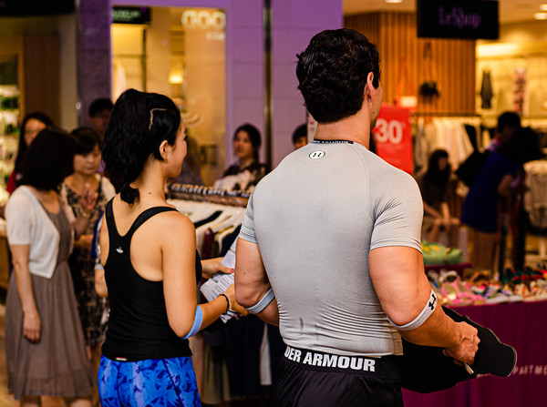Under Armour promotion event, Seoul, Korea, 8/17/2014