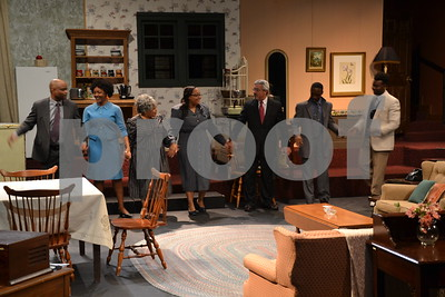 2/1/16 Tyler Civic Theatre Presents A Raisin In The Sun - REHEARSAL by Jan Barton