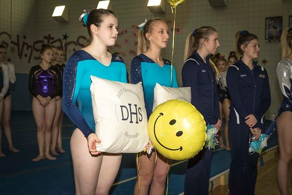 DHS Gymnastics 01-27-2017