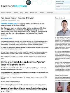 Precision Nutrition Fat Loss Crash Course