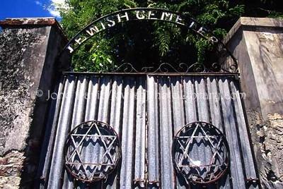 BARBADOS, Bridgetown. Beth Haim Cemetery. (2007)