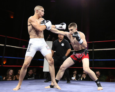 Combat at Capitale Muay Thai Kickboxing 1406