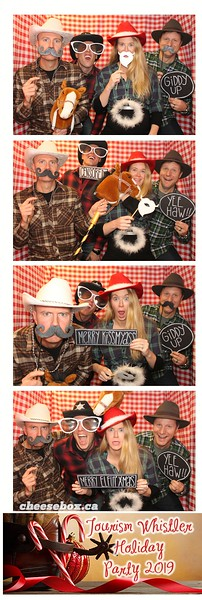 Tourism Whistler Holiday Party 2019