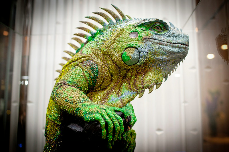 Swarovski Crystal Iguana