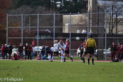 Girls Soccer vs. Exeter 11/12/2011