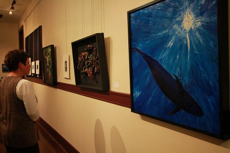 Senior Art Show; Fall 2011.