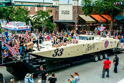 Sarasota Powerboat Grand Prix Parade - July 3, 2015 - from The Garor Club