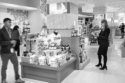 The Shop in Black & White