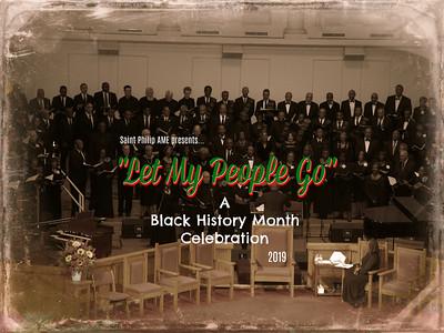 SPC Negro Spirituals Concert 2019