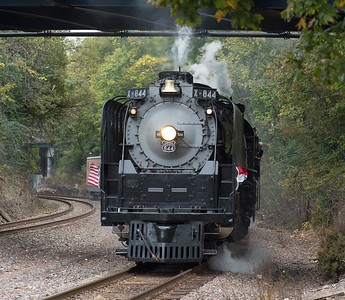 Union Pacific No. 844 Steam Locomotive