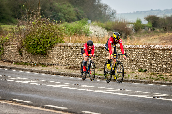 East Sussex CA 2up Team Time Trial 31-03-2019