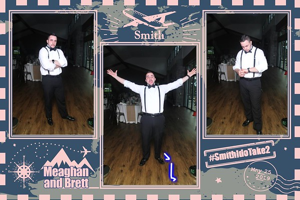 Meaghan & Brett's Wedding Mirror Booth Pics 5.25.19!