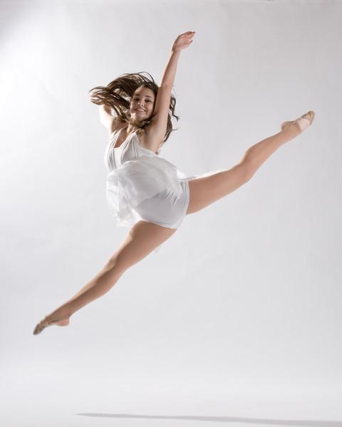 Jacqueline in white.  Shot in my studio in Lake Oswego.  ©2012, James McGrew