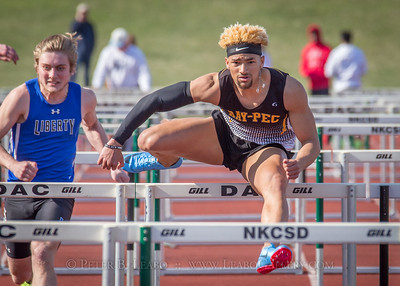Jerry Crews Inv. 100 High Hurdles - Boys