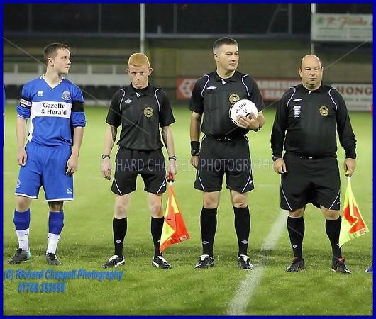 CHIPPENHAM TOWN U18's V RINGWOOD FA CUP