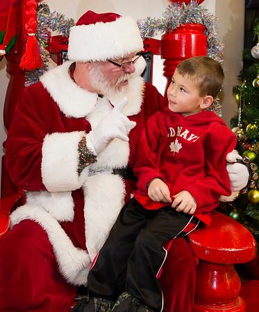 2014 Visit with Santa