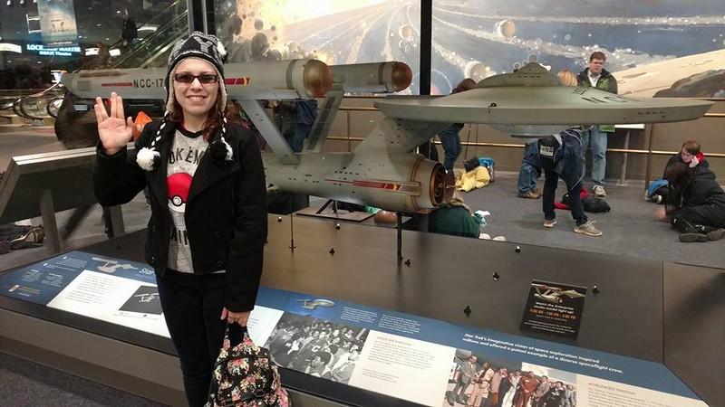 At the Smithsonian Museum, Washington, DC - January 2017