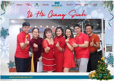 Sovico Group | Christmas 2020 instant print photo booth | Chụp hình in ảnh lấy liền Tiệc Giáng sinh 2020 | WefieBox Photobooth Vietnam