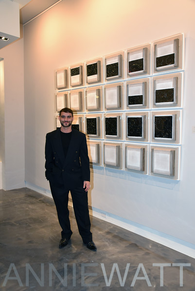 Dec 12, 2019 Luis Urribarri's Opening Night Reception for space/space Exhibition