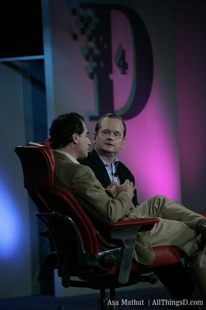 Publishing Panel; Lawrence Lessig & Richard Sarnoff